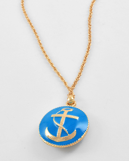 necklaceanchorblue