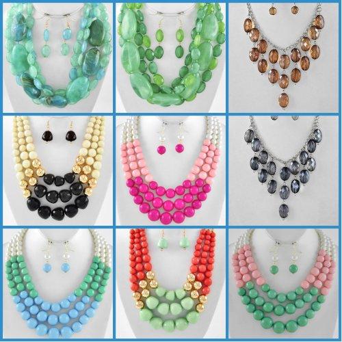 necklacebeadedmulti